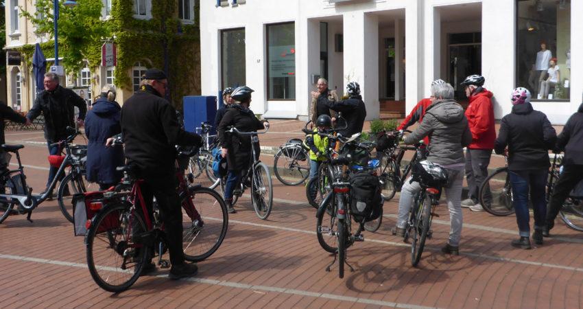 Radtour Erneuerbare Energien - Treffpunkt Marktplatz