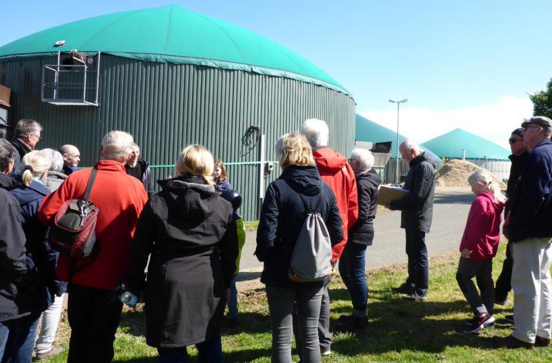 Radtour Erneuerbare Energien - Biogasanlage Lückhausen