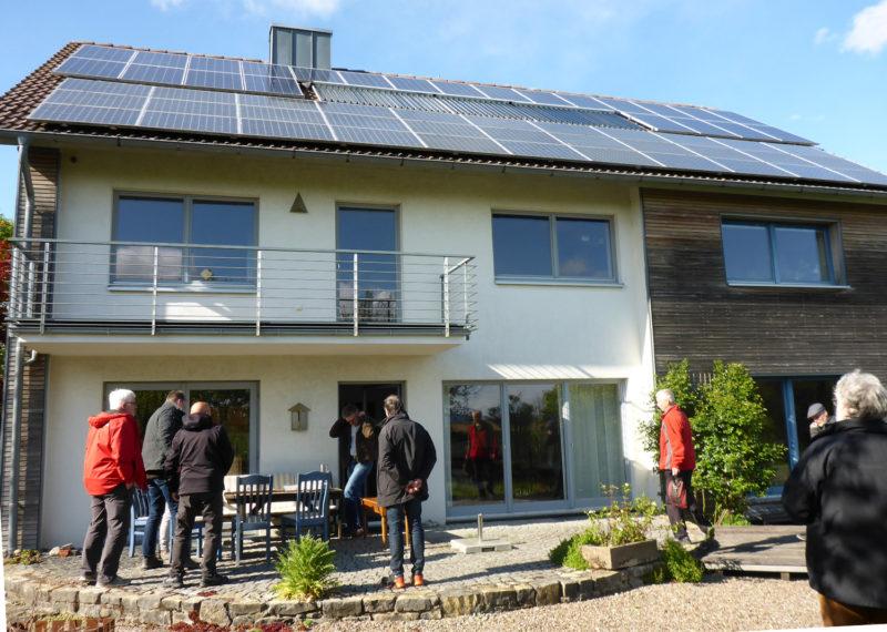 Radtour Erneuerbare Energien - Photovoltaik in Heiden