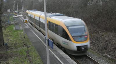 Eurobahn im Bahndof Ehlenbruch