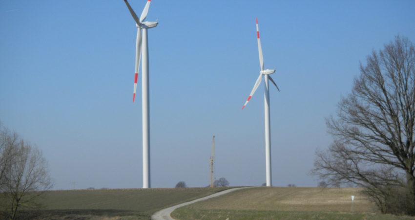 Windräder in Hagen