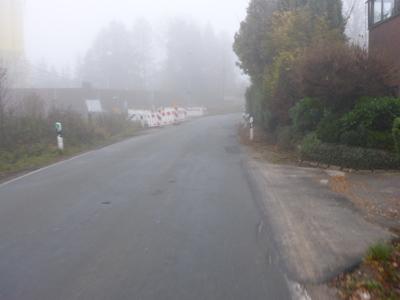 Heßloher Strasse - bisher kein Radweg
