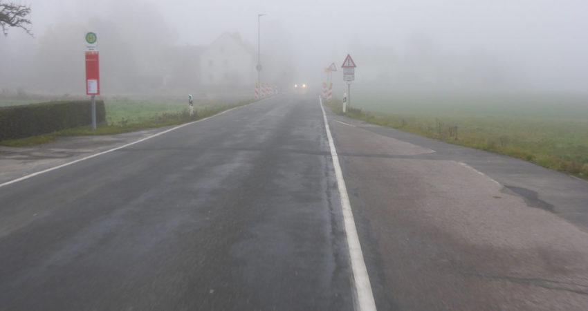 Heßloher Strasse - nicht im guten Zustand