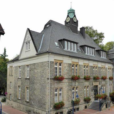 Historisches Rathaus in Lage
