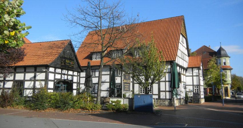 Brinkmannsches Haus, Heidensche Straße, an neuem Standort wieder aufgebaut