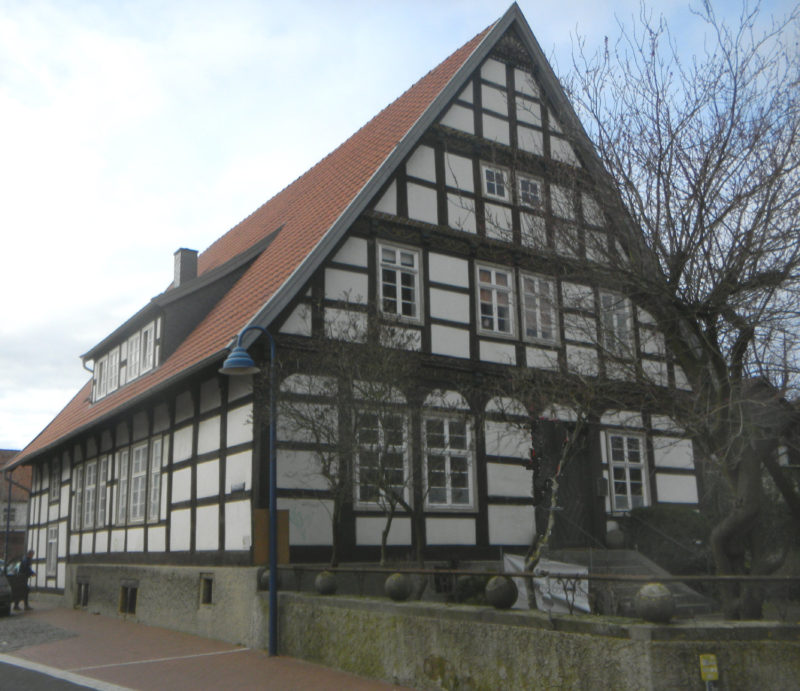 Seppmansches Haus am Ende der Bergstraße