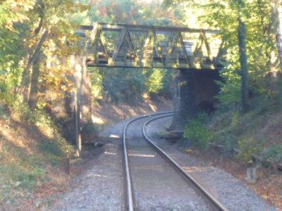 Bahnbrücke in Lage nähe Schötmarsche Straße