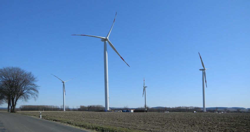 Windräder in Lage-Hagen