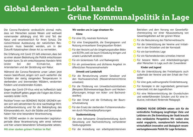 Flyer zur Kommunalwahl 13.9.20 Innenseite