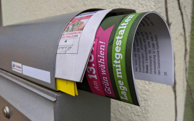 Unsere Broschüre im Briefkasten