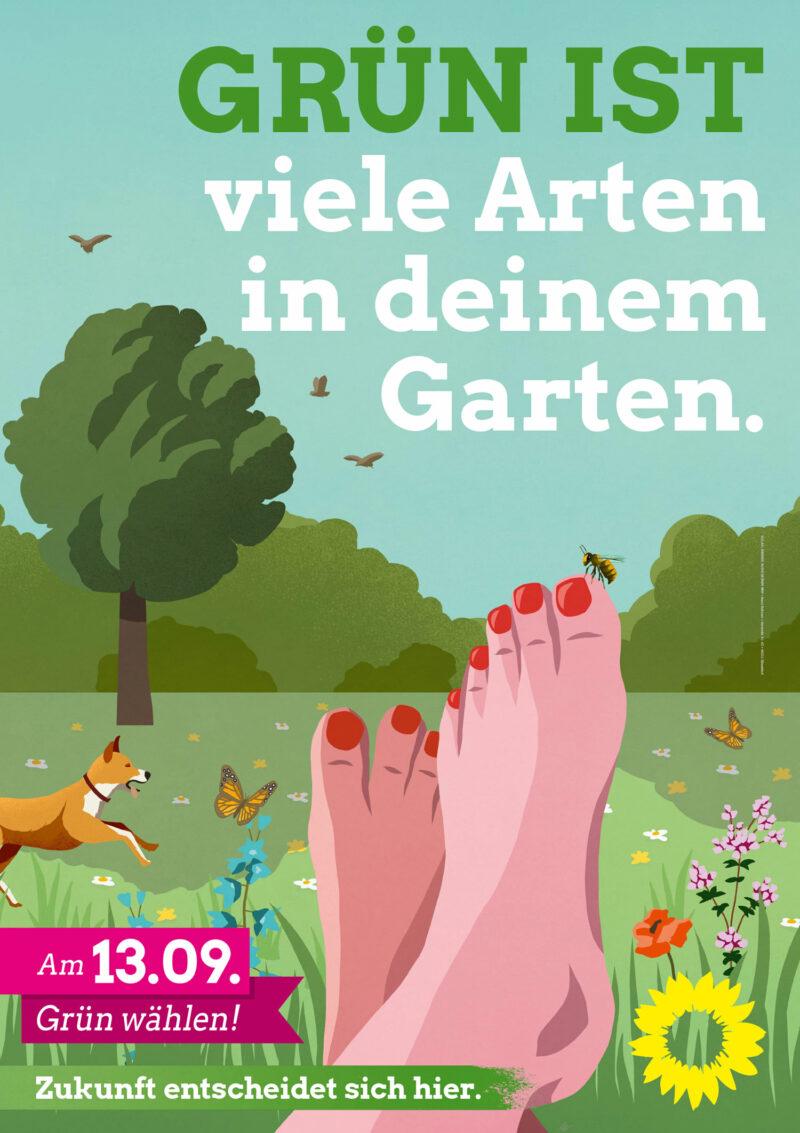 Plakat Kommunalwahlkampf
