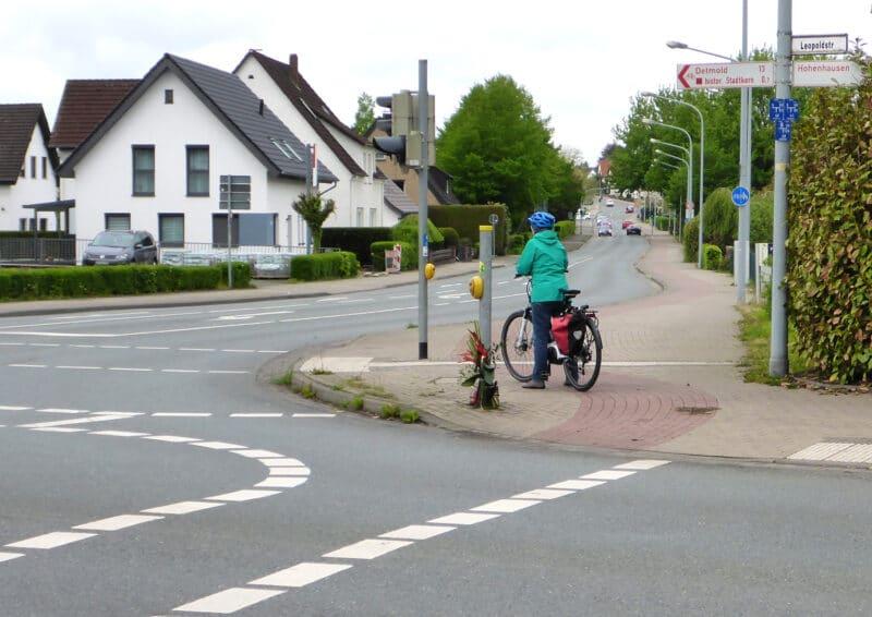 Kreuzung in Lemgo