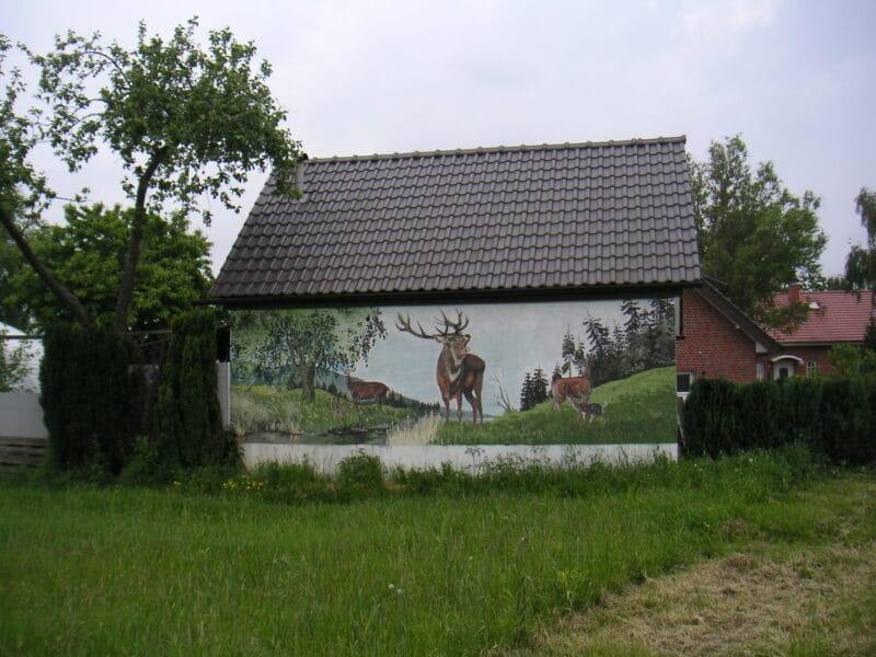 Haus im Sunderkamp, Ecke Rottweg) in Müssen