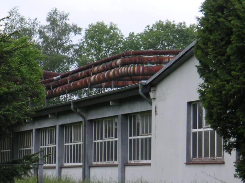 Industriegebäude an der Heidenschen Straße - Rost kann schön sein.
