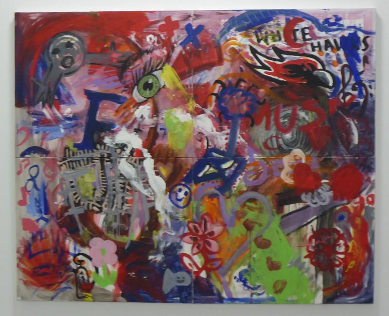 Gemälde im neuen Rathaus Lage