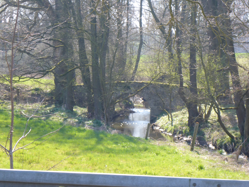Brücke über den Oetternbach an der Heidenschen Str. in Höhe des Hofes Avenhaus an der Heidenschen Str. - alte Zufahrt zum Hof