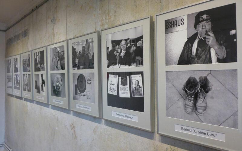 Bilder der Ausstellung Kunst-trotz(t) Armut im Ziegeleimuseum Lage