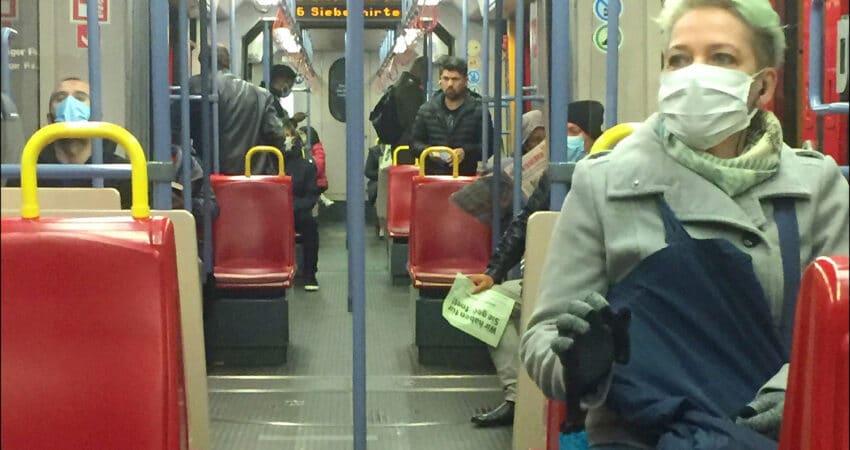 Masken im öffentlichen Nahverkehr