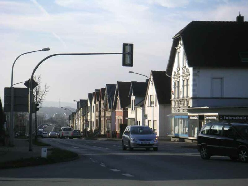 Häuserzeile - Lemgoerstraße