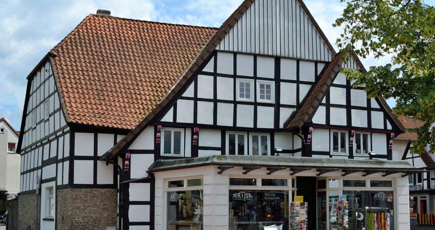 Fachwerkhaus Lange Strasse, vormals Artisa und Martins Genusswerk, hier ist das Jugendcafe geplant