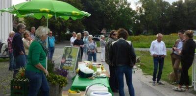 Podiumsdiskussion im Bürgerpark