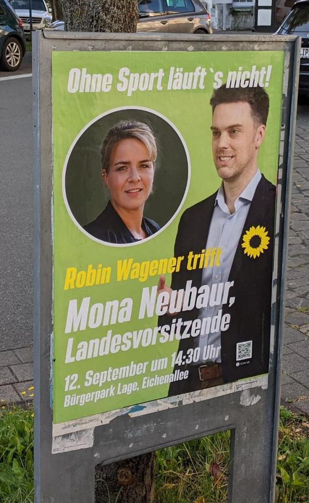 Plakat Mona und Robin